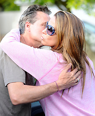 MAY 07 2014 Katie Price at the home of Jane Pountney