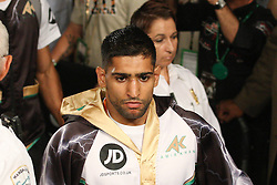 July 14, 2012; Las Vegas, NV; USA; Images from the HBO World Championship Boxing fight between Amir Khan and Danny Garcia.  All Photos HBO Usage ONLY.