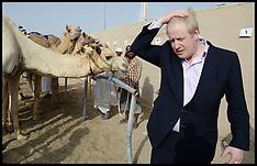 Apr 19 2013 Boris Johnson Camel Racing