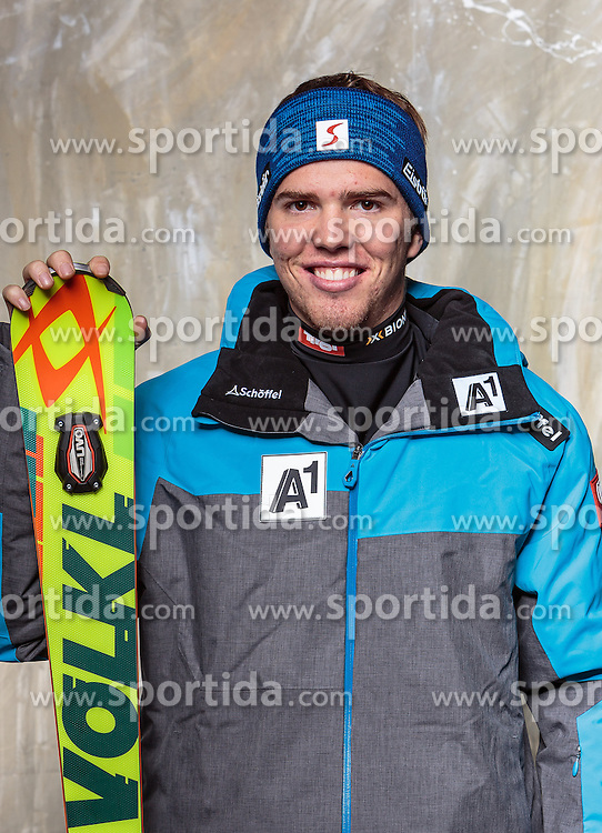 08.10.2016, Olympia Eisstadion, Innsbruck, AUT, OeSV Einkleidung Winterkollektion, Portraits 2016, im Bild Maximilian Linninger, Skicross, Herren // during the Outfitting of the Ski Austria Winter Collection and official Portrait Photoshooting at the Olympia Eisstadion in Innsbruck, Austria on 2016/10/08. EXPA Pictures © 2016, PhotoCredit: EXPA/ JFK