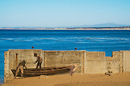 Chinese Fishermen's Mural at McAbee Beach / Cannery Row, Monterey, California