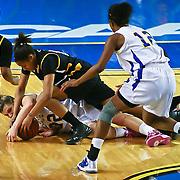 NCAA WOMENS BASKETBALL 2011 - Mar 2 - Delaware defeats Towson 75-57