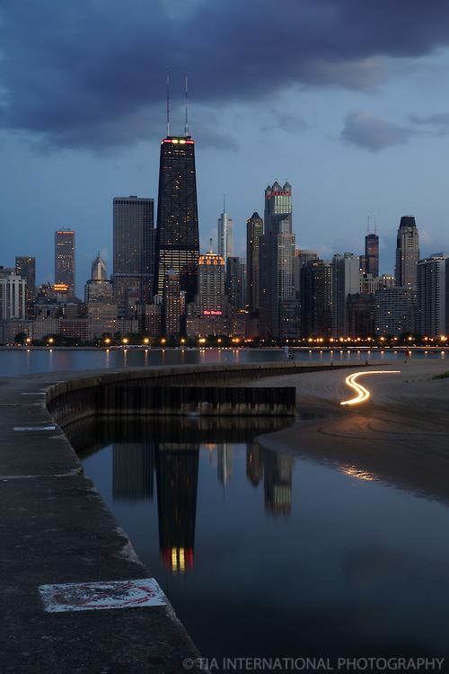 Chicago Skyline, North Avenue Beach (3)