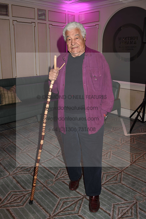 Antonio Carluccio at the 2017 Fortnum &amp; Mason Food &amp; Drink Awards held at Fortnum &amp; Mason, Piccadilly London England. 11 May 2017.<br /> Photo by Dominic O'Neill/SilverHub 0203 174 1069 sales@silverhubmedia.com