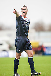 Falkirk's David McCracken.<br /> Falkirk 1 v 0 Queen of the South, Scottish Championship game today at the Falkirk Stadium.<br /> &copy; Michael Schofield.