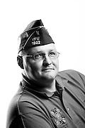 Dan Dennis<br /> Marine Corps<br /> E-4<br /> Heavy Guns<br /> 1993 - 2004<br /> Kuwait, Somalia <br /> <br /> Veterans Portrait Project<br /> St. Louis, MO