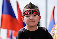 March to Mark 102nd anniversary of Armenian Genocide.