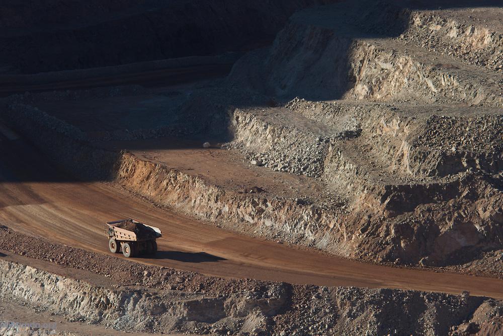 Goldcorp's Los Filos open pit gold mine. Carrizalillo, Guerrero, Mexico. March 19, 2014.