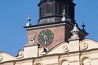 Sukiennice Renaissance Cloth Hall in the centre of Rynek Glowny Market Square Krakow Poland