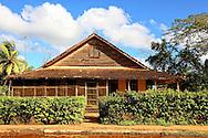 House in Baragua, Ciego de Avila Province, Cuba.