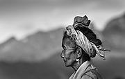 A Khamu woman in Nong Kiau, Laos.