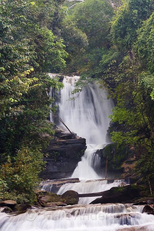 Siriphum (Sirithan) Waterfall, Doi Inthanon National Park, Thailand
