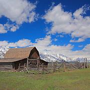 Mormon Row Barn And Stable - Grand Tetons, WY