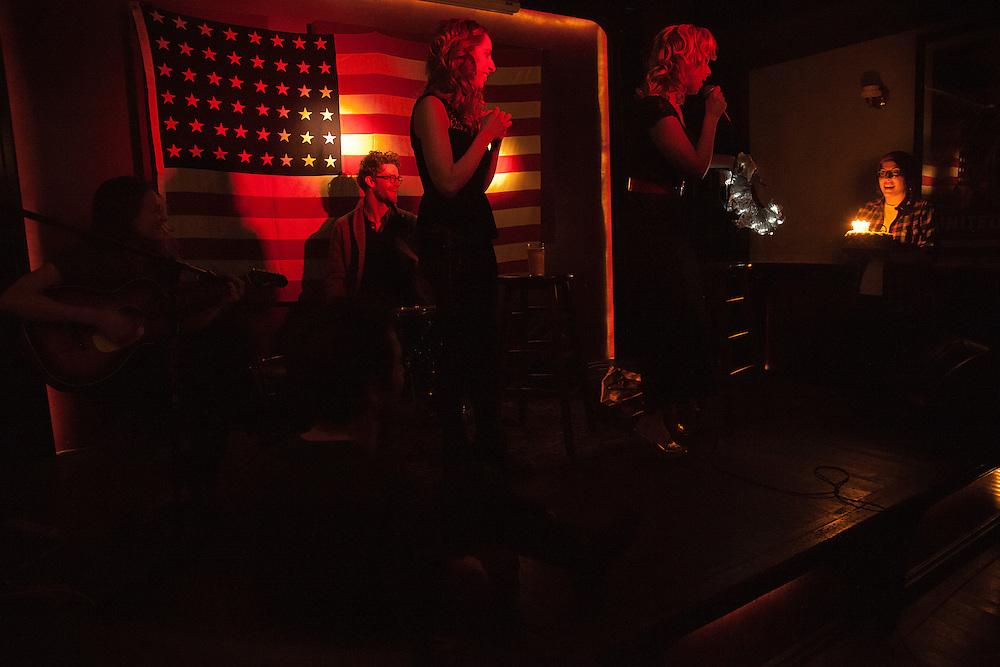 Erin Lennox, Lady Rizo, Peggy O'Leary - DTF - Erin's Birthday Show - January 21, 2013 - Grand Victory - Brooklyn, NY