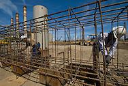 Proyecto Bahía Tacoa..fotografías digitales de los avances de la obra y del traslado de los pontones  al CGJJSB...