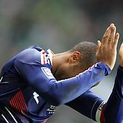 Henry apologises for handball