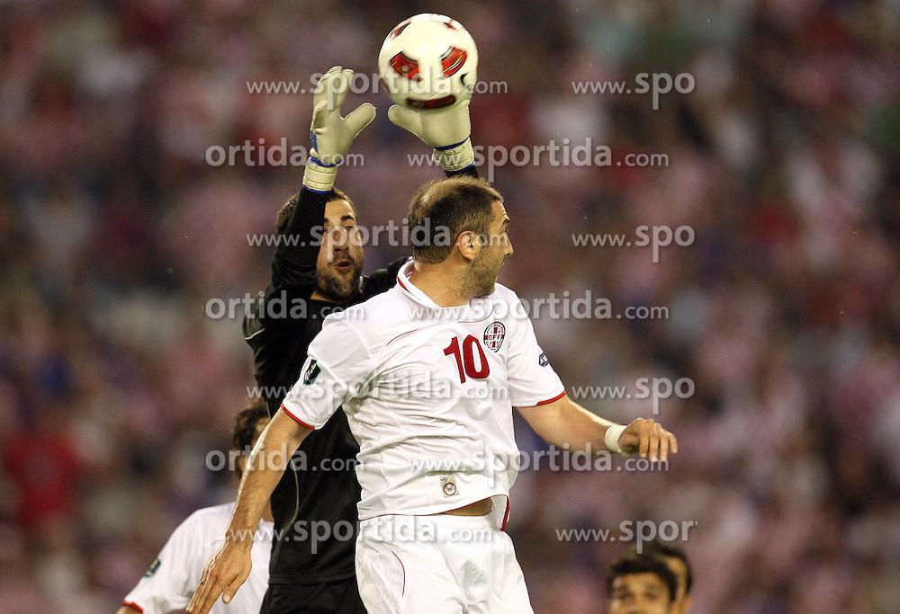 03.06.2011, Poljud, Split, CRO, UEFA EURO 2012, Qualifikation, Croatian vs Georgia, im Bild  . EXPA Pictures © 2010, PhotoCredit: EXPA/ nph/ Pixsell ***** out of GER / SWE / CRO  / BEL ******