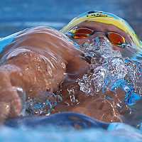 PERTH, AUSTRALIA - FEBRUARY 06:  Mitch Larkin of Australia competes in the Men's 200 Metre Backstroke during the 2016 Aquatic Superseries at HBF Stadium on February 6, 2016 in Perth, Australia.  (Photo by Paul Kane/Getty Images)