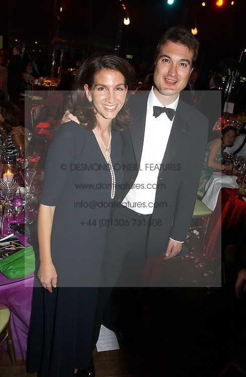 LORD &amp; LADY FRANCIS RUSSELL at the party Belle Epoque hosted by The Royal Parks Foundation and Champagne Perrier Jouet held at the Lido Lawns of the Serpentine, Hyde Park, London on 14th September 2006.<br /><br />NON EXCLUSIVE - WORLD RIGHTS