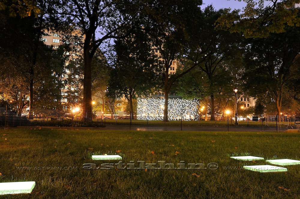 Evening in Madison Square Park