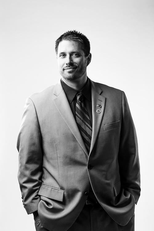 Gabriel A. Jimenez<br /> Army<br /> CW2<br /> Air Defense Warrant Officer<br /> OEF, OIF, 8/9<br /> July 31, 1997 - Nov. 17, 2009<br /> <br /> Veterans Portrait Project<br /> El Paso, TX