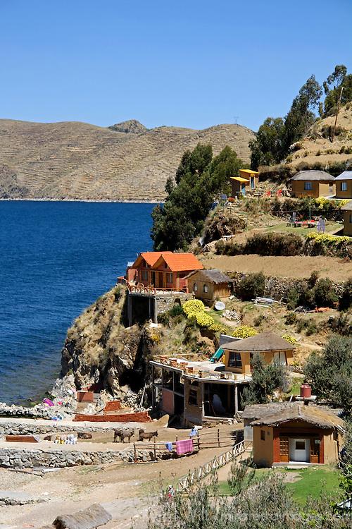 South America, Bolivia, Sun Island.