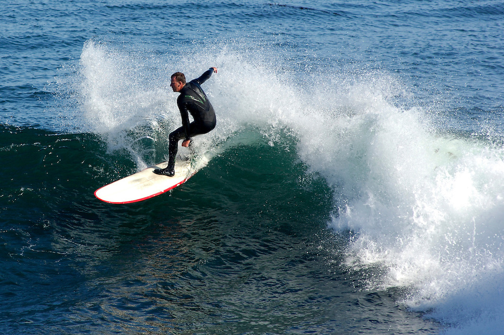 Surfer, Santa Cruz, California, United States of America