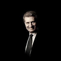 Brussels, Belgium 30 March 2011<br /> Gunther Oettinger, Commissioner for Energy at the European Commission.<br /> Photo: Ezequiel Scagnetti
