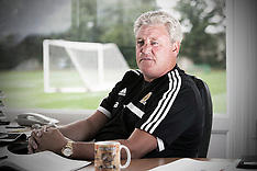 JULY 10 2013 Steve Bruce Hull Manager portraits