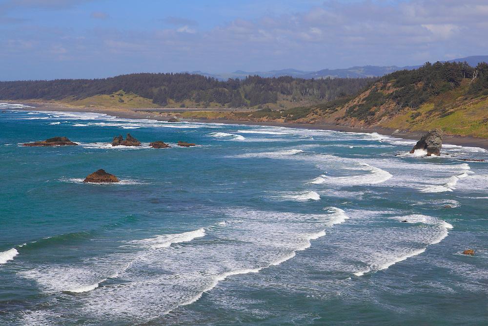 Cape Blanco North Overlook - Oregon Coast | Bill Edwards Photography Pacific Ocean Waves