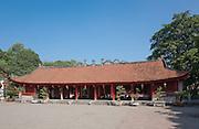 Main hall, Temple of Literature, Hanoi, Vietnam
