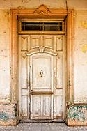 Door in Moron, Ciego de Avila, Cuba.