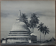 Lionel Wendt Collection. 9.5&quot; x 11.7&quot;<br /> Stupa of Buddhist Temple