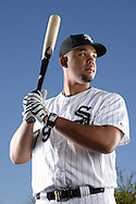 GLENDALE, AZ - MARCH 09:  Jose Abreu #79 of the Chicago White Sox poses for a portrait prior to the game between the Arizona Diamondbacks and Chicago White Sox on March 9, 2015 at The Ballpark at Camelback Ranch in Glendale, Arizona. (Photo by Ron Vesely)   Subject:   Jose Abreu