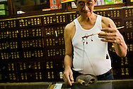 a traditional chinese herbal medicine shop, Kuching