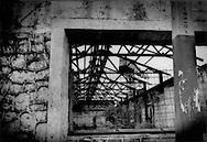 Closed down sugar processing plant in Boca Chica, Dominican Republic.