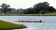 Eton,  GREAT BRITAIN. Hampton School paddle down to the start at the Eton Schools' Regatta, Eton Rowing Centre, Dorney Lake. [Finish of cancelled National Schools Regatta], Saturday, 07/06/2008  [Mandatory Credit:  Karon PHILLIPS / Intersport Images]. Rowing Courses, Dorney Lake, Eton. ENGLAND
