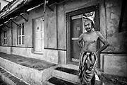 Home in Nagapattinam. South India. Tamil Nadu.