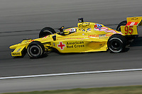 Buddy Lazier at the Chicagoland Speedway, September 11, 2005