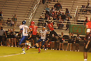 Oxford High's Toler Presley (5) vs. Center Hill in Olive Branch, Miss. on Friday, September 21, 2012. Oxford High won.