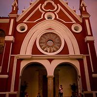 Institucion Universitaria Bellas Aries y Ciencias de Bolivar in Cartagena, Colombia...Photo by Robert Caplin.