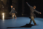 The Place Robin Howard Dance Theatre holds a special night of dance celebrating Bob Lockyer, one of the major players in the development and establishment of dance in the UK, on the occasion of his 70th birthday. Five of the countrys outstanding dance artists  Richard Alston, Mark Baldwin, Siobhan Davies, Wayne McGregor and Monica Mason  have been invited by Bob to curate an evening of original choreography, either creating a new piece, or commissioning young talents. Picture shows LCDS students Drew Hawkins & Andy Macleman in Drone by Andy Macleman.
