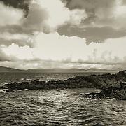 Atlantic coastline off western Ireland