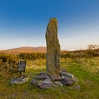 Ogham Stone Caherdaniel Co. Kerry, Ireland / dr061