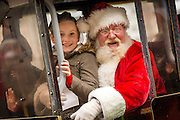 Repro Free No Charge for Repro<br /> <br /> 21-11-15<br /> Ava Boyle aged 7 from Bagenalstown Co. Carlow pictured with Santa Claus on the Santa Parade to Market Cross Shopping Centre in Kilkenny over the weekend where Santa turned on the Christmas lights.<br /> Picture Dylan Vaughan.