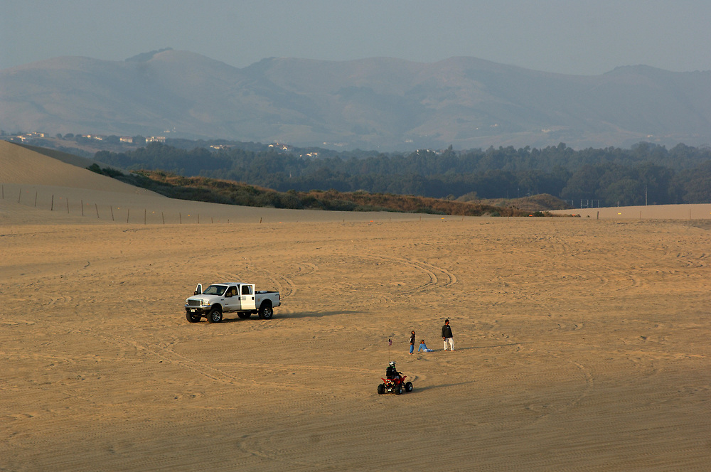 Offroad vehicles at Oceano Dunes S.V.R.A., Oceano, California, United States of America