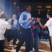 Chicago Sky Forward CHEYENNE PARKER (32) take the floor for warm ups prior to a WNBA preseason basketball game between the Chicago Sky and the New York Liberty Sunday, May. 01, 2016 at The Bob Carpenter Sports Convocation Center in Newark, DEL