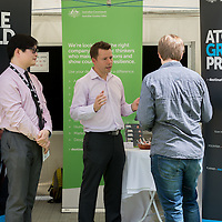 QUT Careers Fair - March 7, 2016: Gardens Point, Brisbane, Queensland, Australia. Credit: Pat Brunet / Event Photos Australia