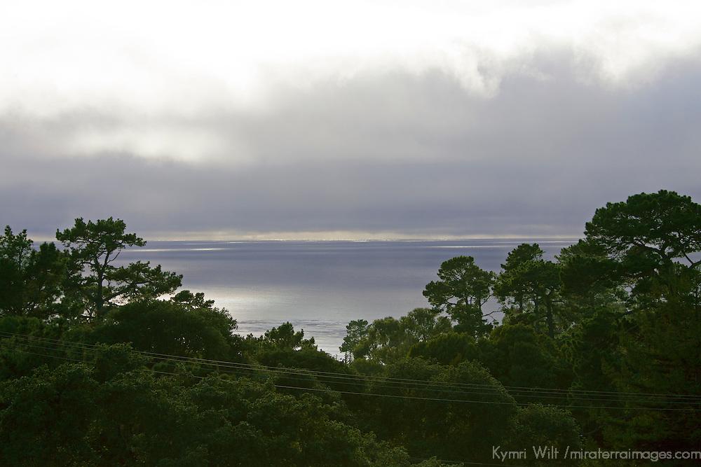 USA, California, Carmel by the Sea. Carmel by the Sea View from Hofsa House.