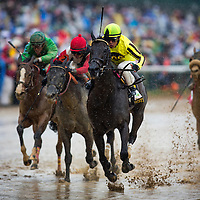 Aubby K with Edgar Prado up wins the Hummana Distaff at Churchill Downs in Louisville, KY on May 04, 2013. (Alex Evers/ Eclipse Sportswire)